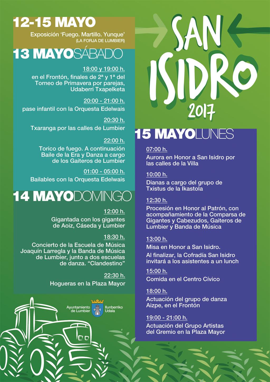 Programación San Isidro 2017