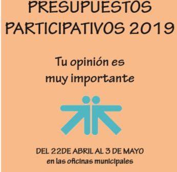 presupuestos participativos banner